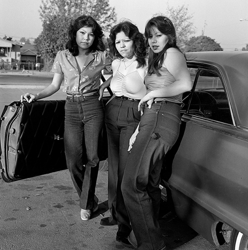 Rivera Bad Girls LA 1983 © Janette Beckman