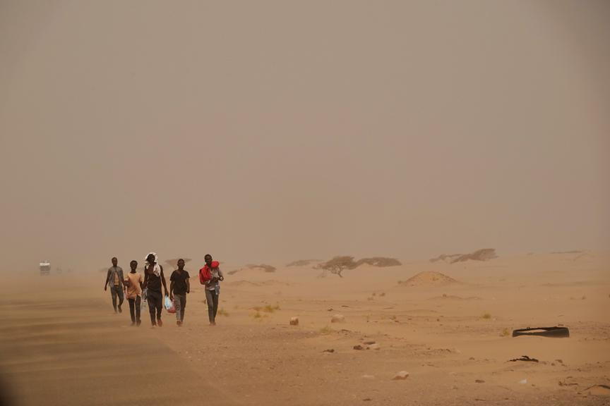 Ethiopian migrants © Susan Schulman