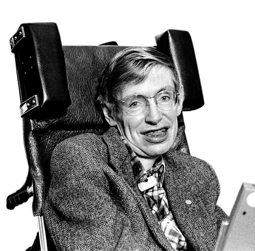 Stephen Hawkings © Karen Fuchs