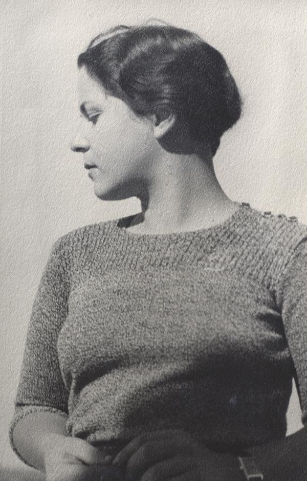 Anne Fischer, ca. 1935-36