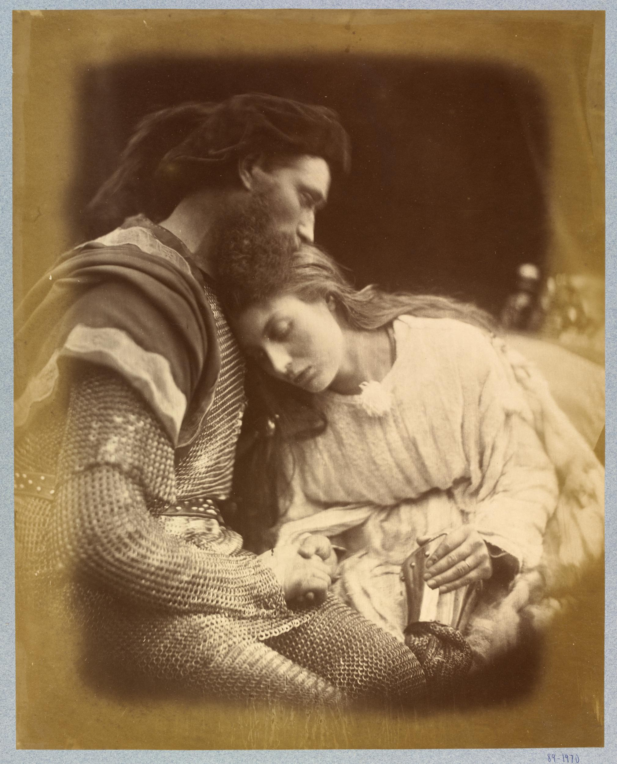 Photo of Sir Lancelot by Julia Margaret Cameron