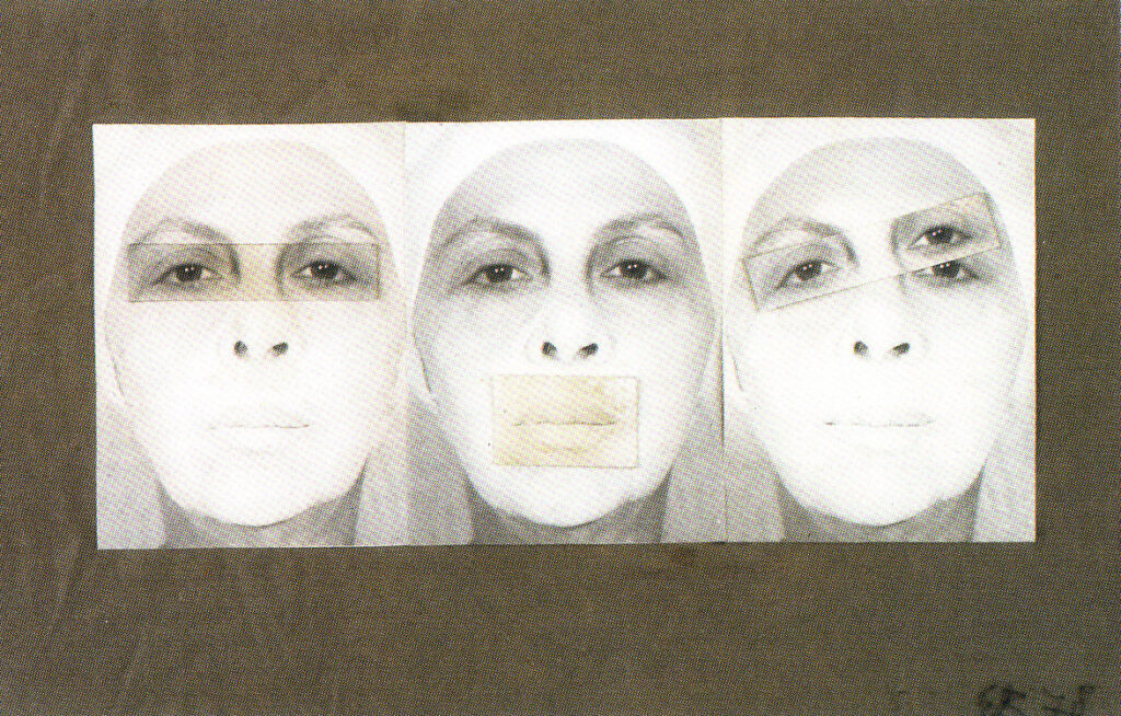 Geta Bratescu - Censored, Self Portrait