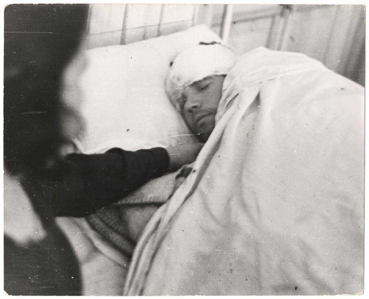 Gerda Taro - Air Raid Victim in Valencia
