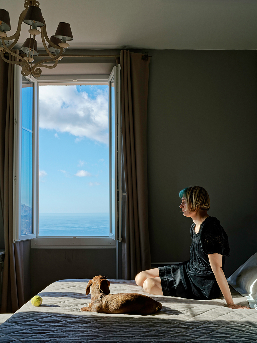 Elina Brotherus, Sebald's Hotel 4, 2019, from the series Sebaldiana. Memento mori, 2019, ∏ VG Bild-Kunst, Bonn 2020