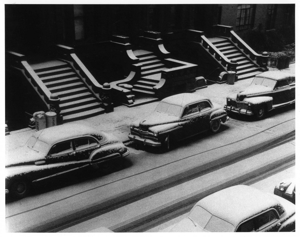 White Stoops, NYC, 1952 Ruth Orkin © Mary Engel & APAG.us
