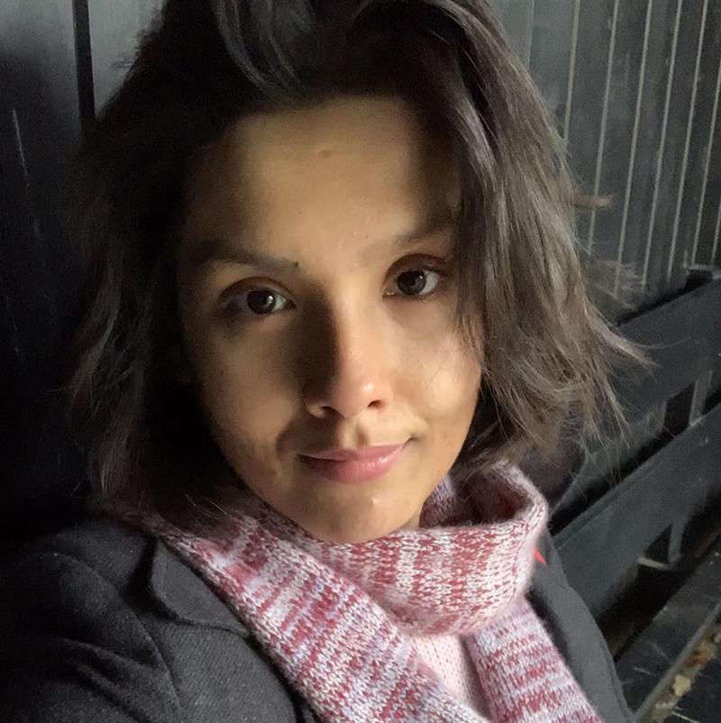 A portrait of Bootcamper Shyama Laxman