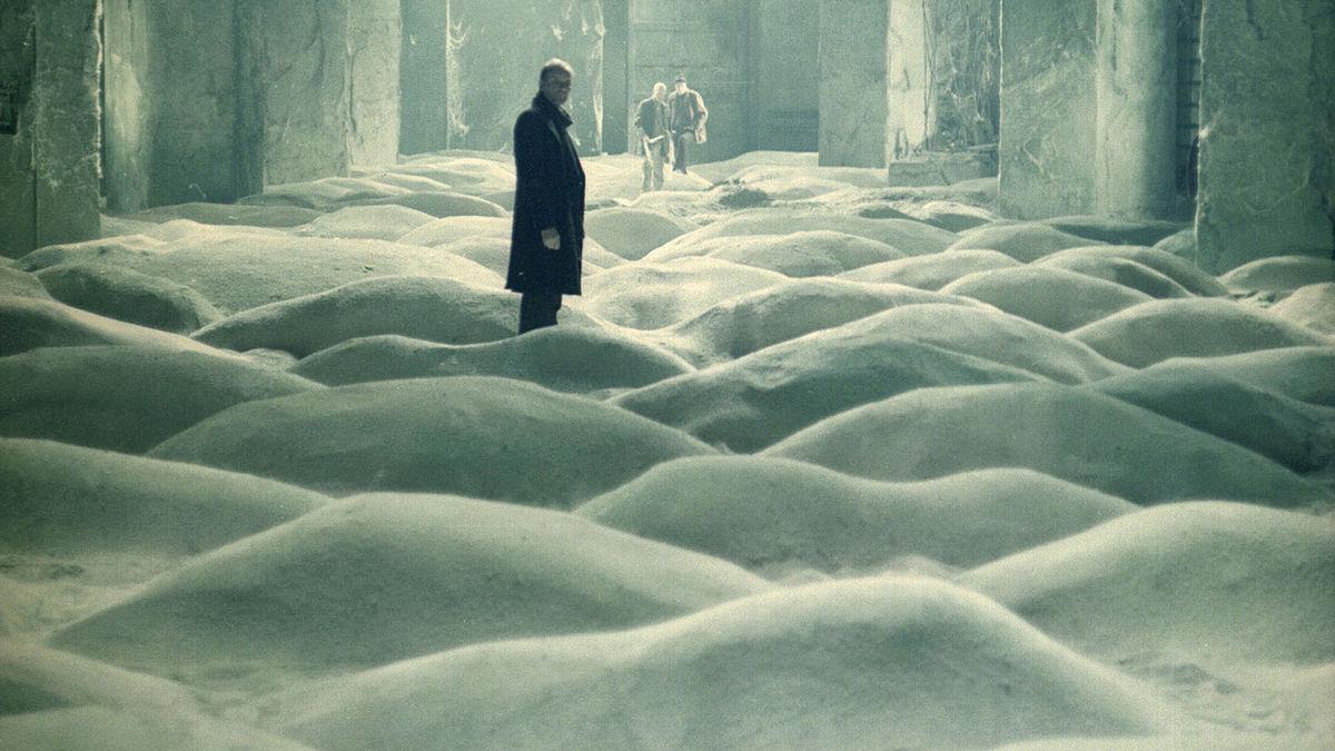 Stalker, 1975 (Film Still) Andrei Tarkovsky. Graciela Iturbide inspiration.