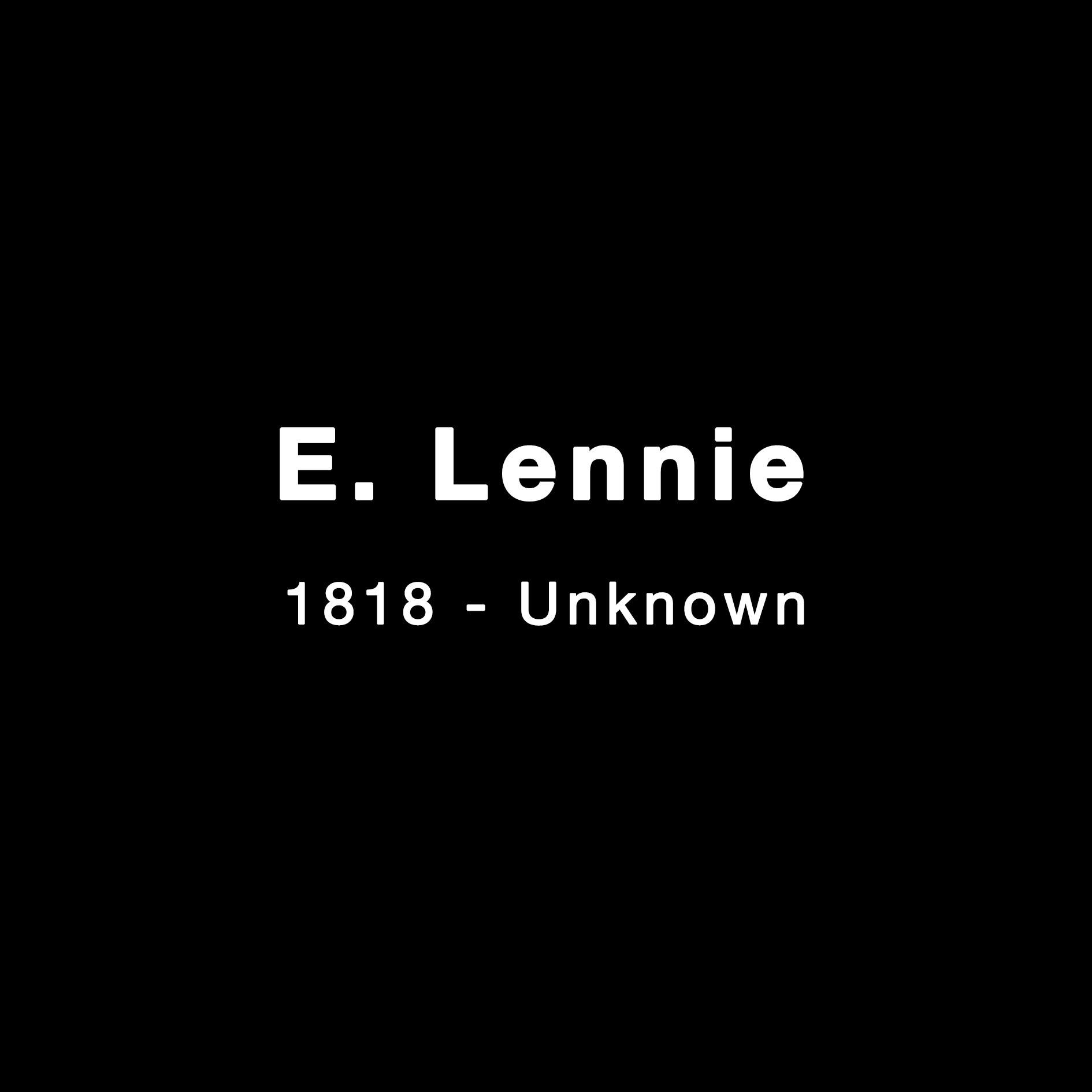 E. Lennie