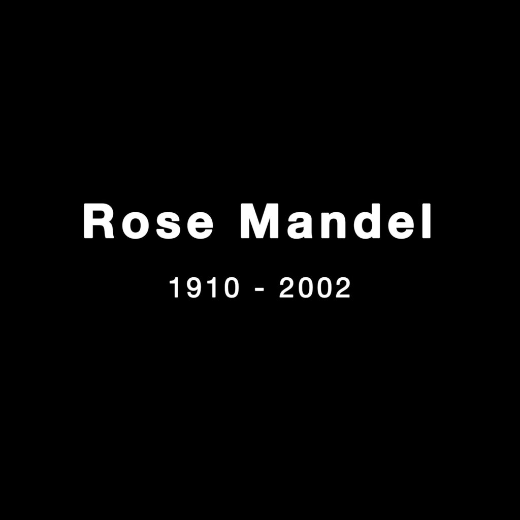 Rose Mandel