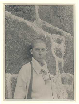 Self Portrait c.1917 by Claude Cahun. Courtesy of the Jersey Heritage Collections