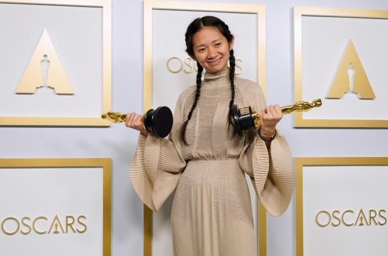 Chloe Zhao wins Best Director Hundred Heroines Oscars