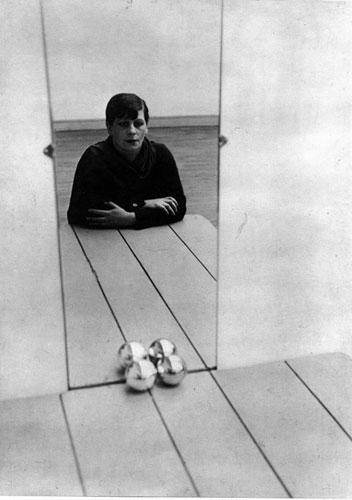 Florence Henri, Self-Portrait, 1928, gelatin silver print