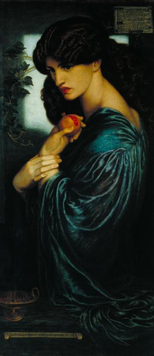 Proserpine 1874 by Dante Gabriel Rossetti 1828-1882