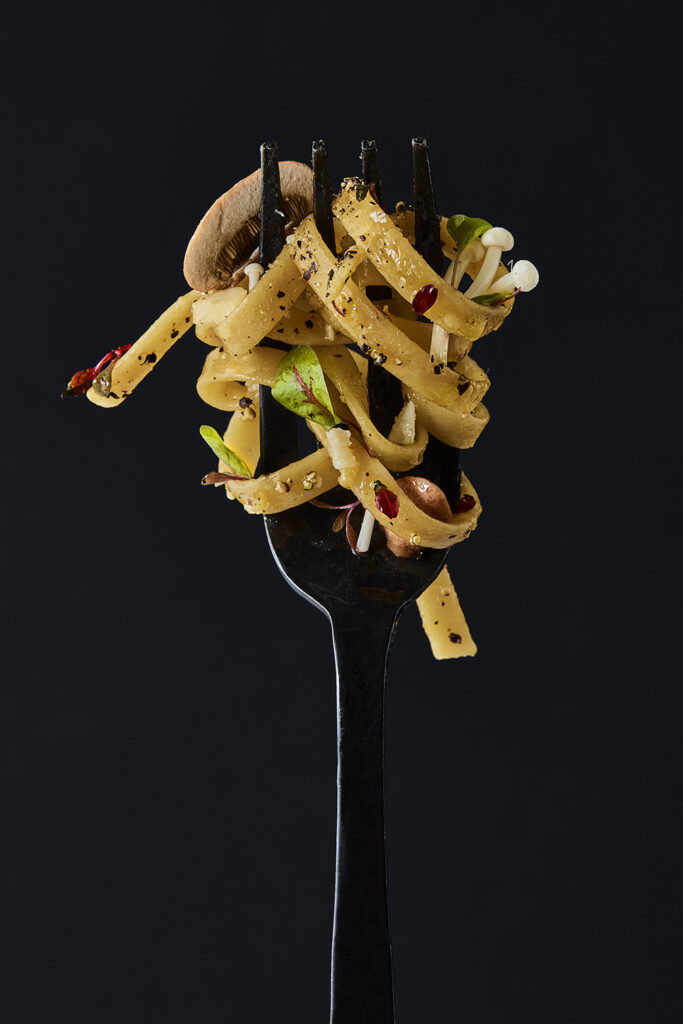 Food Stylist London Pasta on Fork Women in Photography Lola Faura Hundred Heroines