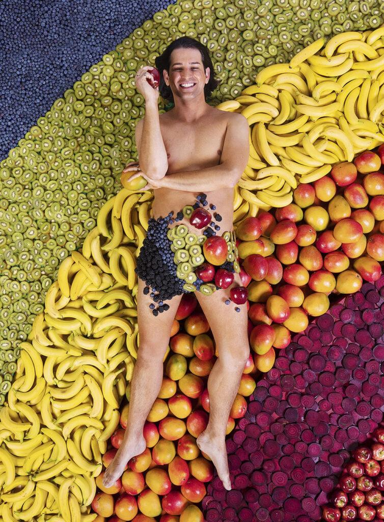 Naked Be A Rainbow Machine - Ollie Locke Women IN Photography Hundred Heroines Lola Faura