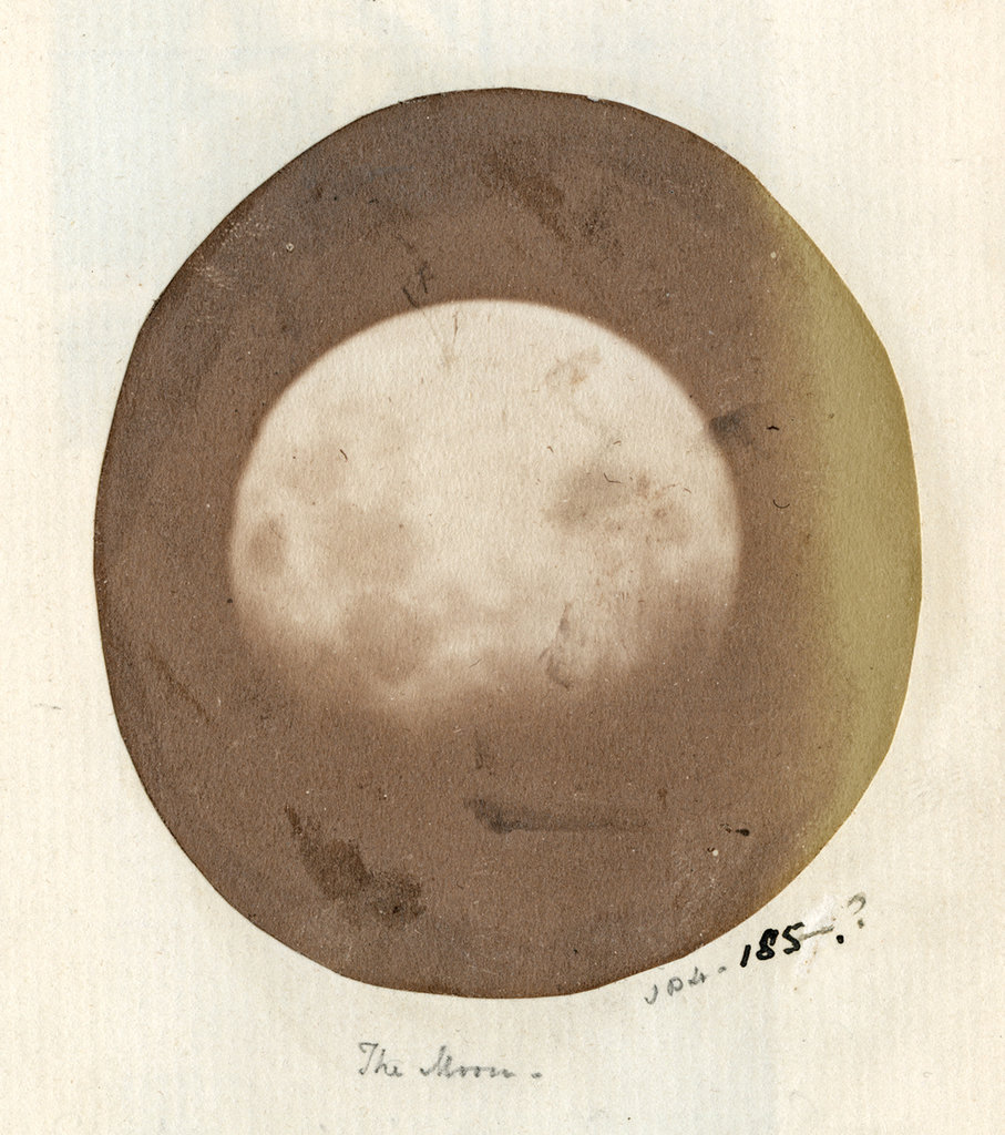 The moon (by John Dillwyn and Thereza Dillwyn Llewelyn_Women_In_Photography_Black_And_White_Photography_Hundred_Heroines